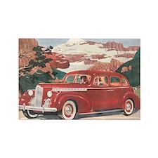 1940 Packard Rectangle Magnet