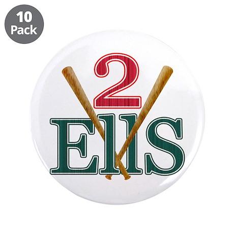 "2 Ellsbury 3.5"" Button (10 pack)"