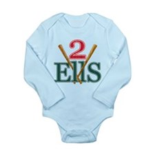 2 Ellsbury Long Sleeve Infant Bodysuit