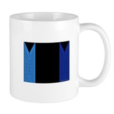 empty blue closet Mug