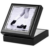 Irish dance Square Keepsake Boxes