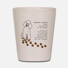 Cute Poodles Shot Glass