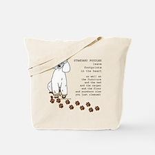 Unique Standard poodle Tote Bag