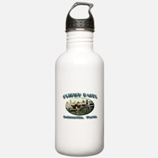 Ostrich Races Water Bottle