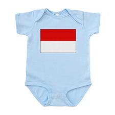 Indonesian Flag Infant Creeper