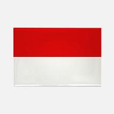Indonesian Flag Rectangle Magnet (10 pack)