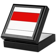 Indonesian Flag Keepsake Box