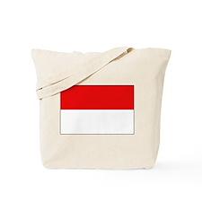 Indonesian Flag Tote Bag