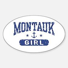 Montauk Girl Decal