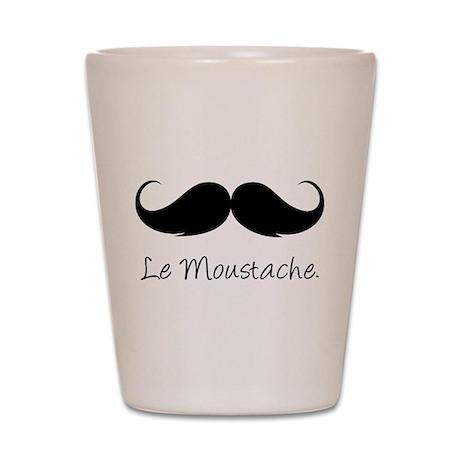 Le Moustache. Shot Glass