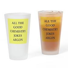 i love chemistry Drinking Glass