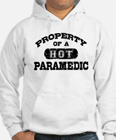 Property of a Hot Paramedic Hoodie