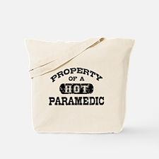 Property of a Hot Paramedic Tote Bag