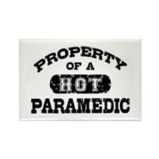 Property of a Hot Paramedic Rectangle Magnet