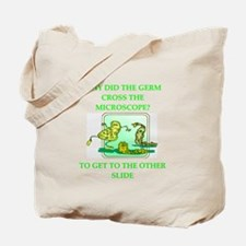 biology joke Tote Bag