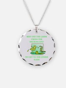 biology joke Necklace