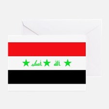 Iraqi Flag Greeting Cards (Pk of 10)
