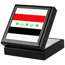 Iraqi Flag Keepsake Box