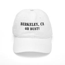 Berkeley or Bust! Baseball Cap