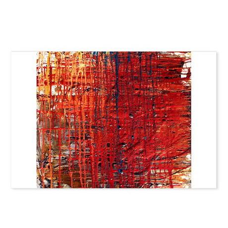 Gasoline II~abstractmoda.com Postcards (Package of