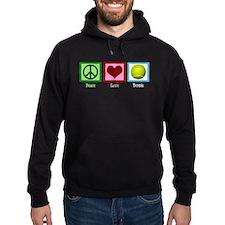 Peace Love Tennis Hoodie