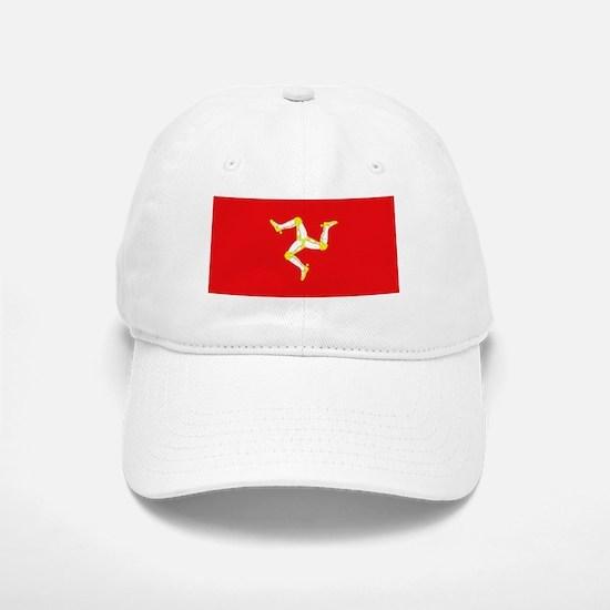 Isle of Man Flag Baseball Baseball Cap