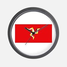 Isle of Man Flag Wall Clock