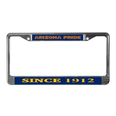 Arizona Pride License Plate Frame