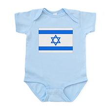 Israeli Flag Infant Creeper
