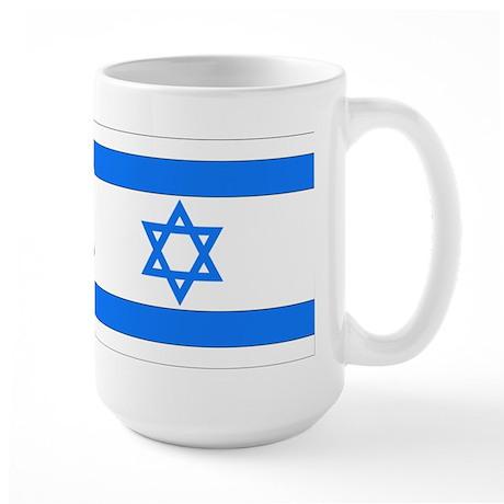 Israeli Flag Large Mug