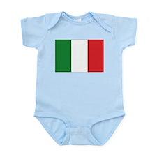 Italia / Italy Flag Infant Creeper