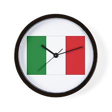 Italia / Italy Flag Wall Clock