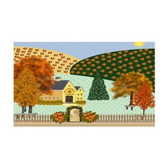 Pumpkin Hollow 38.5 x 24.5 Wall Peel
