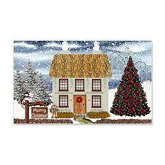 Merry Christmas 22x14 Wall Peel