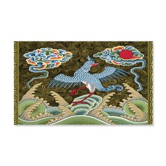 Chinese Tapestry 22x14 Wall Peel