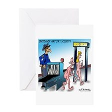 Increased Airport Security Greeting Card
