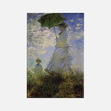 Claude Monet Rectangle Magnet