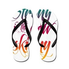 Strong is the New Skinny - Sc Flip Flops