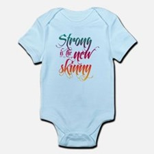 Strong is the New Skinny - Sc Infant Bodysuit