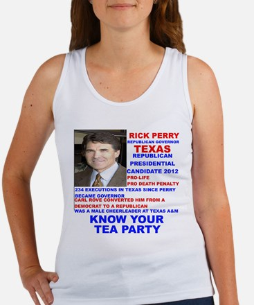 Rick Perry Tea Party Candidate for President Women