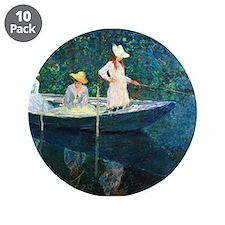 "Claude Monet 3.5"" Button (10 pack)"