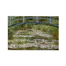 Claude Monet Rectangle Magnet (10 pack)