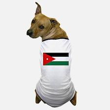 Jordanian Flag Dog T-Shirt