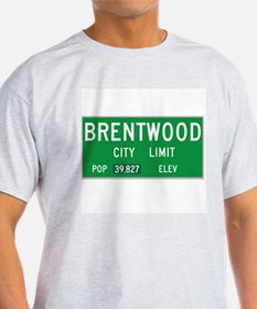 Brentwood City Limits T-Shirt