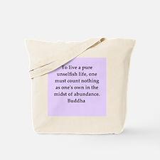 Buddha wisdom Tote Bag