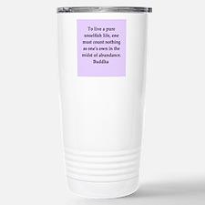 Buddha wisdom Stainless Steel Travel Mug
