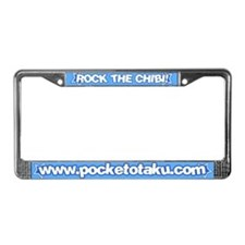 Rock the Chibi! License Plate Frame