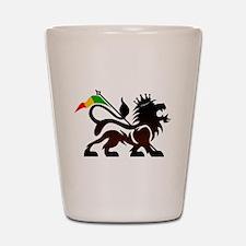 Jah Lion Shot Glass