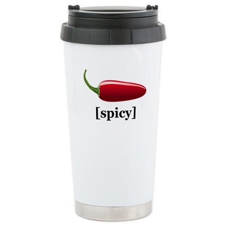 Spicy Stainless Steel Travel Mug