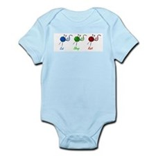Eat sleep knit Infant Bodysuit